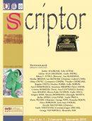 Scriptor Anul I, nr. 1-2 (ianuarie-februarie) 2015