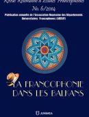 Revue Roumaine d'Etudes Francophones Nr. 6