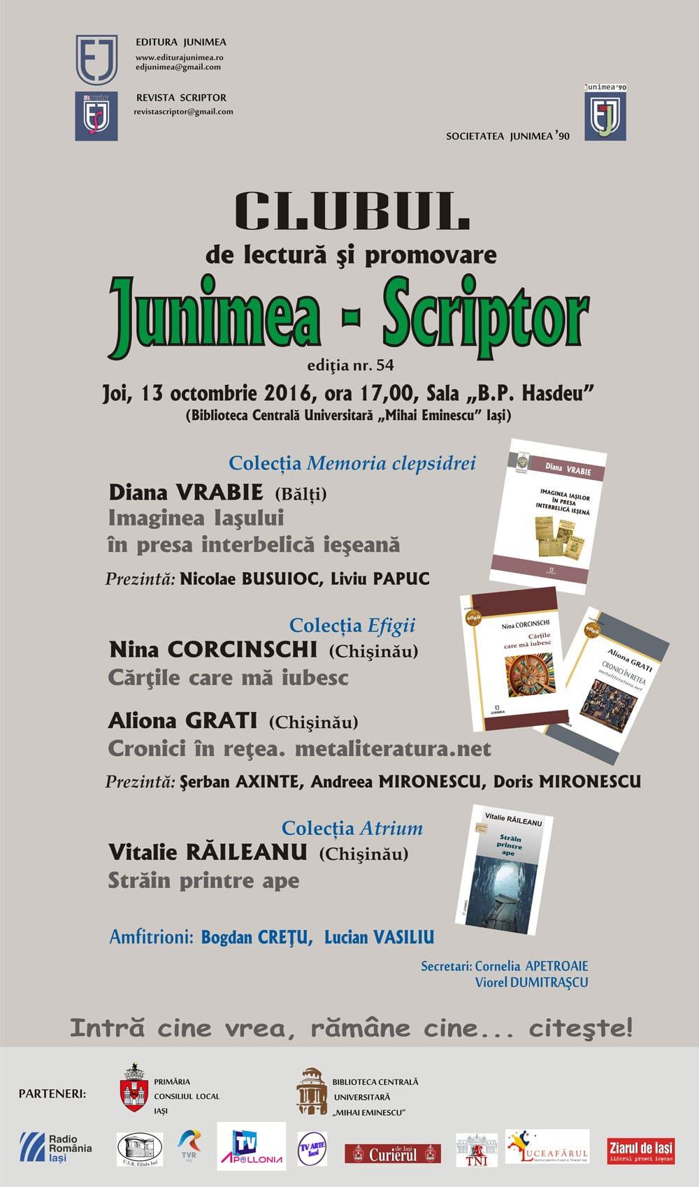 afis-clubul-junimiea-scriptor-13-oct-2016