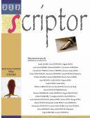 Scriptor Anul II, nr. 3-4 (martie-aprilie) 2016