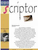 Scriptor Anul II, nr. 7-8 (iulie-august) 2016