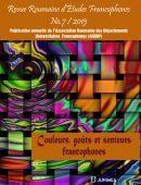 Revue Roumaine d'Etudes Francophones Nr. 7