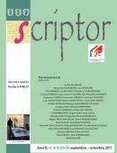 Scriptor Anul III, nr. 9-10 (septembrie-octombrie) 2017