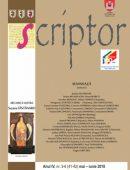 Scriptor Anul IV, nr. 5-6 (mai-iunie) 2018