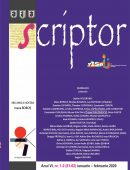 Scriptor Anul VI, nr. 1-2 (ianuarie-februarie) 2020