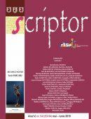 Scriptor Anul V, nr. 5-6 (mai-iunie) 2019