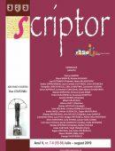 Scriptor Anul V, nr. 7-8 (iulie-august) 2019