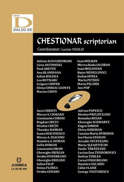 "O carte pe zi: ""Chestionar scriptorian"", coordonator – Lucian Vasiliu"