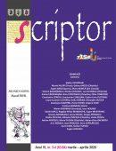 Scriptor Anul VI, nr. 3-4 (martie-aprilie) 2020