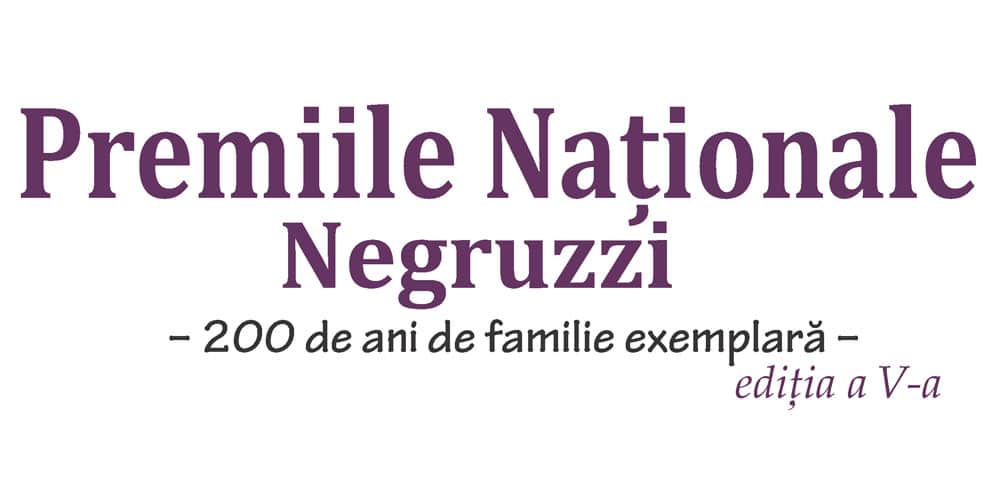 Premiile Naționale NEGRUZZI – ediţia a V-a